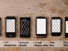 Video: migliore Touchscreen quello casa Apple, iPhone batte cinque telefoni rivali