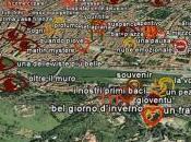 Marketing Territoriale città turistiche. Firenze coinvolge turisti cittadini: emozioni taggate mappa Google Earth