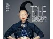TRUE BLUE... French Grazia April Brian Keith with Chao
