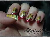 Highlighted summer nails