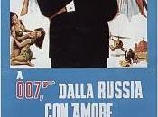 (1963) locandina AGENTE 007, DALLA RUSSIA AMORE (uk)