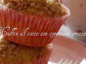 Muffin cocco copertura croccante