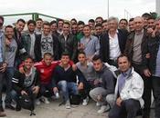 FOTO Fabio Cannavaro visita all'Aversa Normanna!