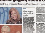 Fotodisastri: Gazzetta Parma scambia l'imitazione della Guzzanti vera Emma Marcegaglia