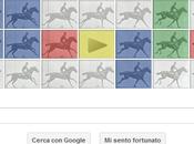 doodle Google Eadweard Muybridge, padre della fotografia movimento