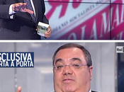 Porta Porta, Vespa presenta plastico delle mazzette!