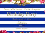 Compleanno Anna Dello Russo