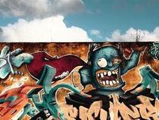 Raccolta wallpapers dedicati graffiti urbani