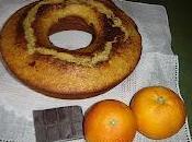 ciambella all'arancia Sicilia cioccolato