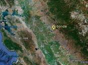 enorme bolide cieli Nevada