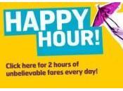 Monarch Airlines: Happy Hour ogni giorno dalle alle