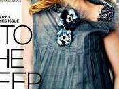 """Dakota Fanning sulla cover Magazine"""" sembra Carla Bruni..."""