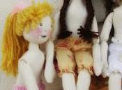 Bambole stoffa....e abiti, Cloth Doll ...e Dress