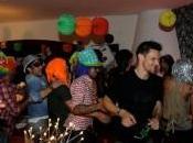 FOTO-Gli azzurri alla festa compleanno Gianluca Grava!