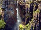 Salto Angel, cascata alta mondo, trova piena foresta amazzonica Venezuela