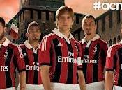 nuova maglia Milan 2013