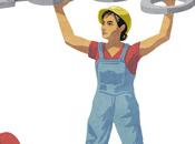 doodle Google Festa Lavoro donna