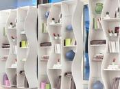 Libreria design modulare ONDA Angelo Tomaiuolo Tonin CASA