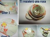 Scrapbooking tutorial: come realizzare roselline carta