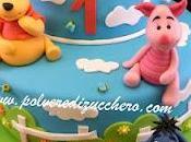Torta Tigro, Pooh, Pimpi, Ih-Oh piani