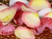 Petali rose semplice dolce festa della mamma