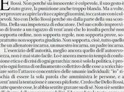 Delio Rossi, Will Hunting Michele Serra