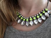 Neon rhinestone bijoux