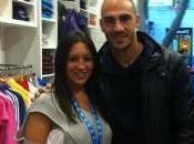 FOTO-Paolo Cannavaro negozio Adidas Vomero!