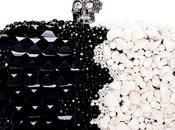 skull clucth black white Alexander McQueen