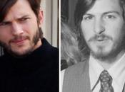 Prime foto Ashton Kutcher vestito come Steve Jobs