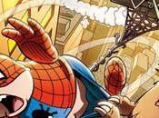 Dentiblù all'evento anni Spiderman versione suina Spider-Mad