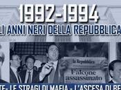 Anni neri della Repubblica: l'omicidio Falcone, l'uscita scena Craxi, Referendum