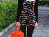 Outfit+Giveaway! same DDLM Neon Bag!
