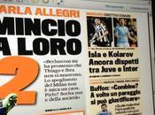 FOTO Ecco prima pagina della Gazzetta dello Sport,ecco strana giustificazione Buffon