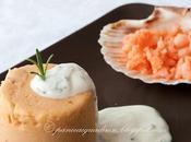 Budino fagioli mazzancolle, salsa allo yogurt rosmarino: golosi anche senza glutine