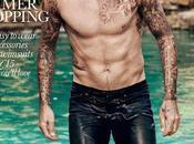 David Beckham First Cover ELLE