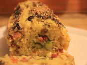 Plum cake asparagi, olive pancetta