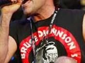 "Iron Maiden Bruce Dickinson ""Evito ascoltare musica"""