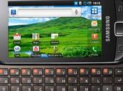 Samsung Galaxy i5510: Android tastiera QWERTY