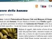 Addio museo della banana
