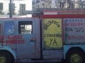 camion pazzo mondo: crisi Spagna colpisce pompieri