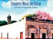 Cover registrazione integrale della musica Agustin Barrios Mangoré
