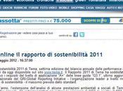 Flavio Cattaneo (Terna): rapporto sostenibilità 2011 confermato livello
