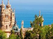Chiese mondo: piccola castello Colomares Spagna