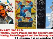 ORDINARY WORLD. Andy Warhol, Pietro Psaier Factory artworks Keith Haring, Paolo Buggiani Subway drawings: giugno novembre 2012, Musei della Maremma