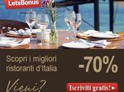 Social shopping Italia: LetsBonus porta scoprire ristoranti migliori delle città italiane
