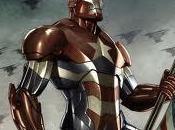 """Ecco """"Iron Patriot"""", villain Iron"""