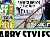 Inghilterra-Italia sfida giornali