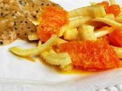 Scaloppine lonza salsa cremosa alle senapi