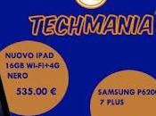 Nuovo iPad contro Samsung Galaxy Plus, offerta Techmania.biz